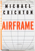 Books:Signed Editions, Michael Crichton. INSCRIBED. Airframe. New York: Knopf, 1996. First edition, first printing. Inscribed by Crichton...