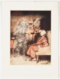 Antiques:Posters & Prints, Lot of 10 Arthur Rackham Illustrations from A ChristmasCarol. From A Christmas Carol by Charles Dickens, Lo...