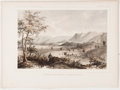 Antiques:Posters & Prints, Lot of 10 Tinted Engravings From an Early Railroad Survey ofCalifornia. Taken from a mid-18th century rail road survey, the...