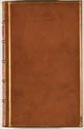 Books:Fiction, [Ben Jonson]. The Works of Ben Jonson. London: G. and W.Nicol, et al., 1816. Nine octavo volumes. Contemporary full...(Total: 9 Items)