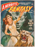 Books:First Editions, A. Merritt's Fantasy. April, 1950 Issue. New York:Recreational Reading, 1950. Publisher's wrappers with moderateru...