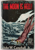 Books:First Editions, John W. Campbell, Jr. The Moon Is Hell! Reading: FantasyPress, 1951. First edition, first printing. Octavo. 256 pag...