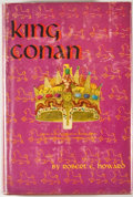 Books:First Editions, Robert E. Howard. King Conan. New York: Gnome, [1953]. Firstedition, first printing. Octavo. 255 pages. Publisher's...