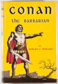 Books:First Editions, Robert E. Howard. Conan the Barbarian. New York: Gnome,[1954]. First edition, first printing. Octavo. 224 pages. Pu...