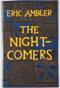 Books:First Editions, Eric Ambler. The Night-Comers. London: Heinemann, [1956].First edition, first printing. Octavo. 233 pages. Publishe...