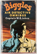 Books:First Editions, W. E. Johns. The Biggles Air Detective Omnibus. London:Hodder and Stoughton, [1956]. First edition, first printing....