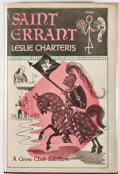 Books:First Editions, Leslie Charteris. Saint Errant. Garden City: Doubleday,1948. First edition, first printing. Octavo. 192 pages. Publ...