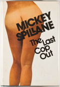 Books:First Editions, Mickey Spillane. The Last Cop Out. New York: Dutton, 1973.First edition, first printing. Octavo. 310 pages. Publish...