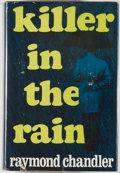 Books:First Editions, Raymond Chandler. Killer in the Rain. Boston: HoughtonMifflin, 1964. First edition, first printing. Octavo. 394...
