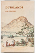 Books:First Editions, J. M. Coetzee. Dusklands. Johannesburg: Ravan Press, 1974.First edition, first printing. Octavo. 134 pages. Publish...
