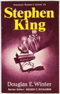 Books:Signed Editions, Douglas E. Winter. INSCRIBED BY KING. Stephen King: Starmont Reader's Guide 16. Mercer Island: Starmont House, [1982...