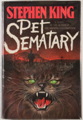 Books:Signed Editions, Stephen King. INSCRIBED. Pet Sematary. Garden City:Doubleday, 1983. First edition, first printing. Inscribed by K...