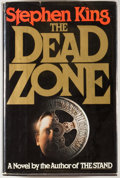 Books:Horror & Supernatural, Stephen King. The Dead Zone. New York: The Viking Press,1979. First edition, first printing. Inscribed and da...