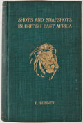 Books:Sporting Books, E. Bennet. Shots and Snapshots in British East Africa. NewYork: Longmans, Green, 1914. First edition. Octavo. 312 p...