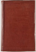 Books:Sporting Books, Frederick Courteney Selous. African Nature Notes andReminiscences. London: Macmillan, 1908. First edition. Octavo....