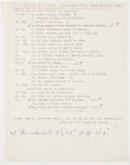Antiques:Posters & Prints, Garth Williams. IN HIS OWN HAND. Williams' Outlines forIllustrations for The Cricket in Times Square. Thirteen ...