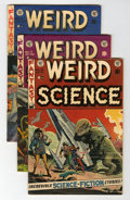 Golden Age (1938-1955):Science Fiction, Weird Science #15 and 17-19 Group (EC, 1952-53).... (Total: 4 ComicBooks)