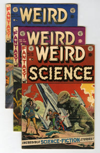 Weird Science #15 and 17-19 Group (EC, 1952-53).... (Total: 4 Comic Books)