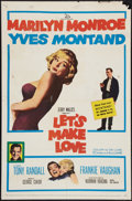 "Movie Posters:Comedy, Let's Make Love (20th Century Fox, 1960). One Sheet (27"" X 41""). Comedy.. ..."