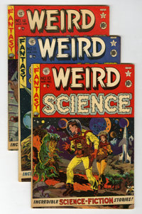 Weird Science #10-14 Group (EC, 1951-52).... (Total: 5 Comic Books)