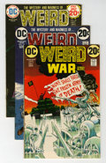 Bronze Age (1970-1979):War, Weird War Tales Group (DC, 1972-76).... (Total: 10 Comic Books)