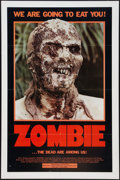 """Movie Posters:Horror, Zombie (Variety Films, 1979). One Sheet (27"""" X 41""""). Horror.. ..."""