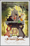 "Movie Posters:Animated, The Jungle Book (Buena Vista, R-1984). One Sheet (27"" X 41""). Animated.. ..."