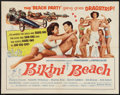 "Movie Posters:Comedy, Bikini Beach (American International, 1964). Half Sheet (22"" X 28""). Comedy.. ..."