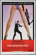 "Movie Posters:James Bond, For Your Eyes Only (United Artists, 1981). One Sheet (27"" X 41""), Uncut Pressbook (8 Pages, 11"" X 17""), & Press Sheet (9"" X ... (Total: 3 Items)"