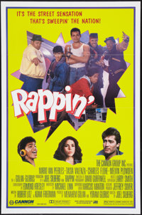 "Rappin' (Cannon, 1985). One Sheet (27"" X 41""). Musical"