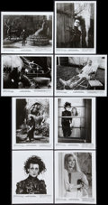 """Movie Posters:Fantasy, Edward Scissorhands (20th Century Fox, 1990). Photos (12) (8"""" X10"""") and Presskit Sections (2) (Multiple Pages, 8.5' X 11"""")....(Total: 14 Item)"""