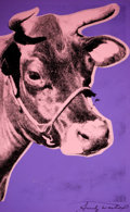 Prints:Contemporary, ANDY WARHOL (American, 1928-1987). Cow, 1976-1977. Colorscreenprint. 45 x 28 inches (114.3 x 71.1 cm). Signed. ...