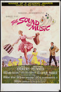 "Movie Posters:Academy Award Winners, The Sound of Music (20th Century Fox, 1965). One Sheet (27"" X 41"")Academy Awards Style. Musical.. ..."
