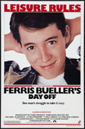 """Movie Posters:Comedy, Ferris Bueller's Day Off (Paramount, 1986). One Sheet (27"""" X 41""""). Comedy.. ..."""