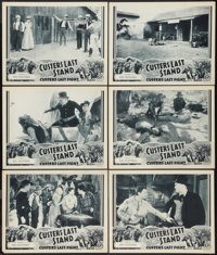 """Custer's Last Stand (Stage and Screen Productions, 1936). Lobby Cards (6) (11"""" X 14"""") Chapter 13 - - """"Red..."""