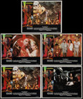 "Movie Posters:Science Fiction, Flash Gordon (Universal, 1980). Lobby Cards (5) (11"" X 14""), Uncut Pressbook (16 pages, 8.5"" X 11""), & Program (4 Pages, 9"" ... (Total: 7 Items)"