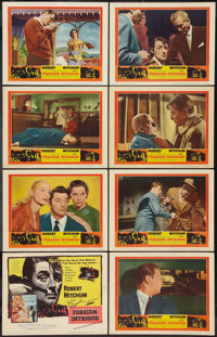 "Foreign Intrigue (United Artists, 1956). Lobby Card Set of 8 (11"" X 14"") & Uncut Pressbook (15 Pages..."