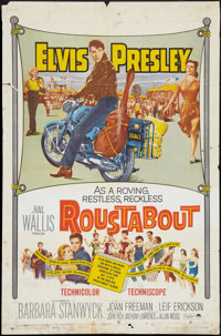 "Roustabout (Paramount, 1964). One Sheet (27"" X 41"") & Uncut Pressbook (12 Pages, 12.25"" X 15""..."