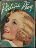 """Movie Posters:Miscellaneous, Picture Play (July, 1936). Magazine (98 Pages, 8.5"""" X 11.5""""). Miscellaneous.. ..."""