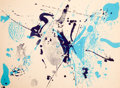 Prints, SAM FRANCIS (American, 1923-1994). Blue Violet, 1963. Color lithograph. 22-1/4 x 30 inches (56.5 x 76.2 cm). Signed in p...