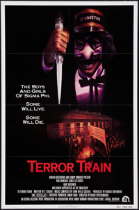"Terror Train (20th Century Fox, 1980). One Sheet (27"" X 41"") & Mini Lobby Card Set of 8 (8"" X 10""..."