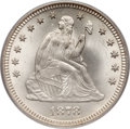 Seated Quarters, 1878 25C MS66 PCGS....