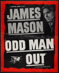 "Odd Man Out (Universal International, 1947). Uncut Pressbook (14.5"" X 18"", 16 Pages). Thriller"