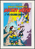 """Movie Posters:Animation, Ye Olden Days (Circle Film Art, R-1980s). Fine Art Serigraph (22.5"""" X 31""""). Animation.. ..."""