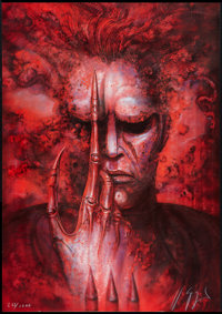 """Future-Kill (International Film Marketing, 1985). Numbered and Signed H. R. Giger Lithograph Poster (26"""" X 37""""..."""