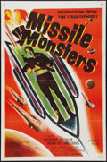 "Movie Posters:Science Fiction, Missile Monsters (Republic, 1958). One Sheet (27"" X 41"") FlatFolded. Science Fiction.. ..."