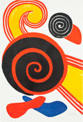 Prints:Contemporary, ALEXANDER CALDER (American, 1898-1976). Spirals, 1969.Lithograph in colors. 35 x 23-3/4 inches (88.9 x 60.3 cm). Ed.11...