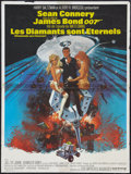 "Movie Posters:James Bond, Diamonds Are Forever (United Artists, 1971). French Affiche (23.5""X 31.5""). James Bond.. ..."