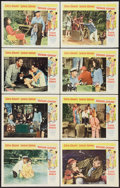 "Movie Posters:Comedy, Father Goose (Universal, 1965). Lobby Card Set of 8 (11"" X 14""). Comedy.. ... (Total: 8 Items)"