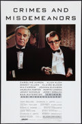 """Movie Posters:Comedy, Crimes and Misdemeanors (Orion, 1989). One Sheet (27"""" X 41"""") Style B. Comedy.. ..."""